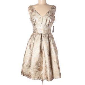 JESSICA SIMPSON NWT Gold Cocktail Dress